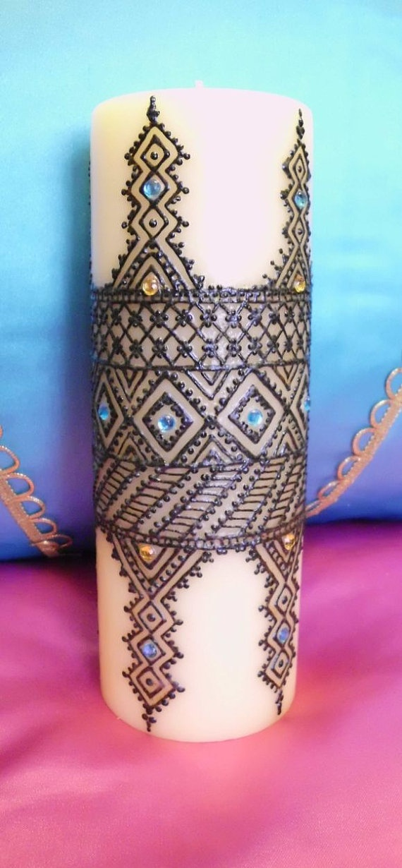 Mehndi Candles Facebook : Best images about henna candles on pinterest peacocks