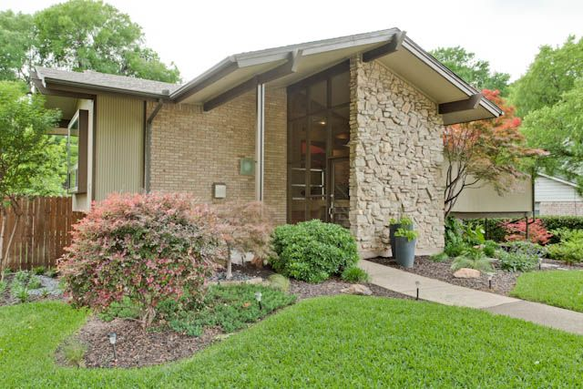 36 best images about dallas homes on pinterest home for Mid century modern homes dallas