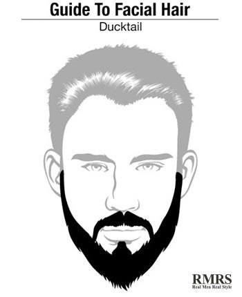 The Ducktail style of beard is another twist off the original full beard and gets its name from its appearance.  By looking at it you can easily see how much the bottom part of this style of beard resembles the tail of a duck.  Many beardsmen consider the Ducktail a perfect compromise between th