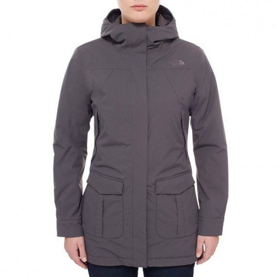 quite nice c108b 0bf3e The North Face NSE Jacket Damen Winterjacke graphite grey im ...