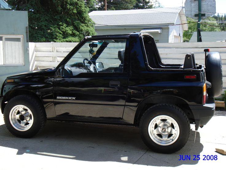 1995 suzuki sidekick 2 dr jx 4wd convertible pic 43128. Black Bedroom Furniture Sets. Home Design Ideas