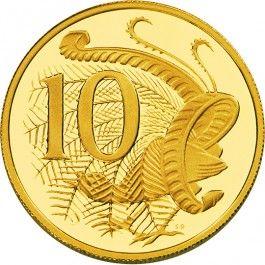 2013 10c Australian Gold Proof Coin