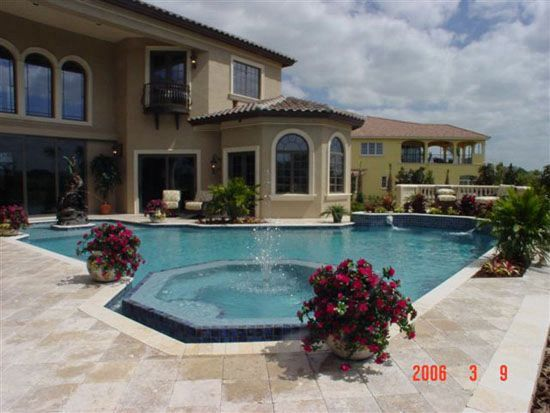 29 best residential pools images on pinterest coast for Pool design concepts sarasota
