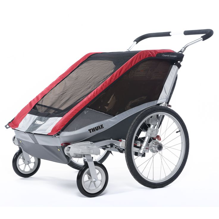 Thule Chariot Cougar 2 Multi Sport Child Carrier and Trailer is packed full of features and fantastic value for money; a popular choice for active families.