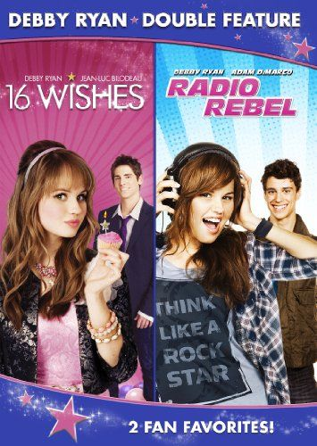 This twin-pack of movies featuring Disney starlet Debby Ryan includes 16 WISHES and RADIO REBEL.