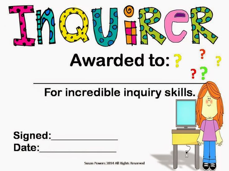 Cool Teaching Tools: Inquiry Banks: Wondering in Action