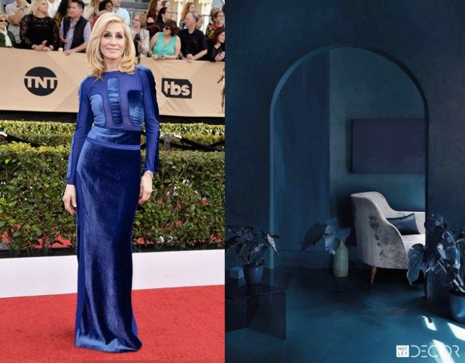 Judith Light | 2017 SAG Awards | If Gowns Were Rooms on MotleyDecor.com