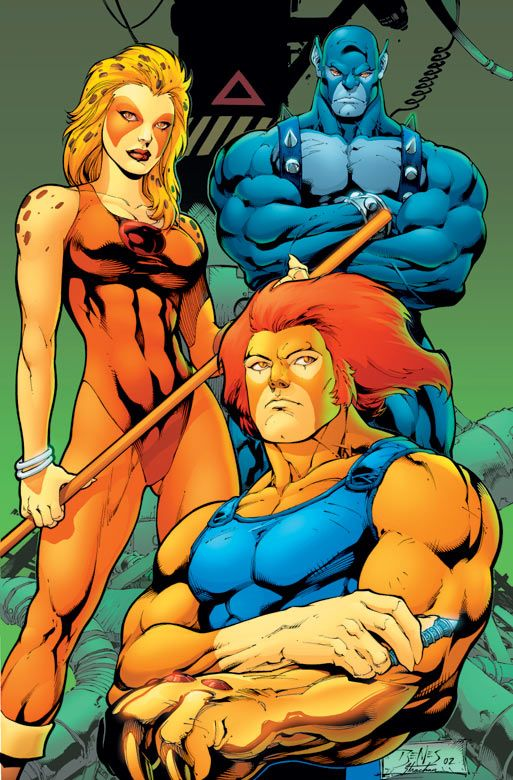 "super-nerd: "" Thundercats by Ed Benes """
