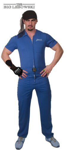 The Big Lebowski Jesus Blue Deluxe Adult Costume Size Standard @ niftywarehouse.com