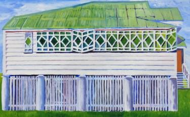 "Saatchi Art Artist SHAUN STAPLETON; Painting, ""REDBANK HOUSE QUEENSLAND…"