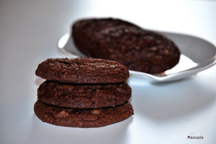 Cookies al doppio cioccolato di Laura Ravaioli.Via delle Spezie | Via delle Spezie