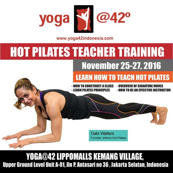 Learn how to teach inferno pilates. Teacher training in jakarta!