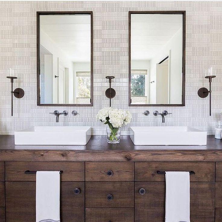 10 Stunning Transitional Bathroom Design Ideas To Inspire You: Best 25+ Rustic Modern Bathrooms Ideas On Pinterest