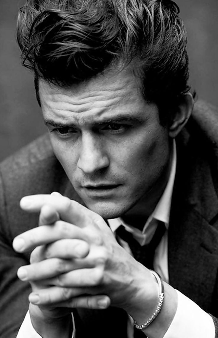 Orlando Bloom by Matthew Brookes