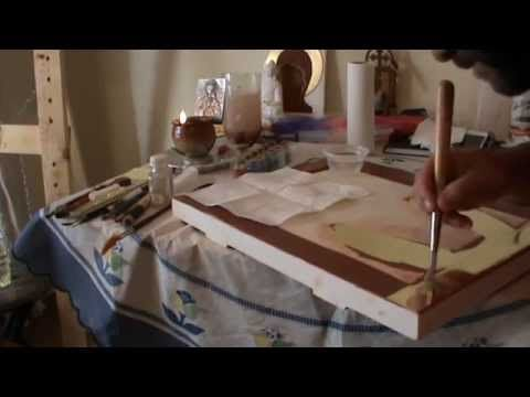 Water Gilding - YouTube