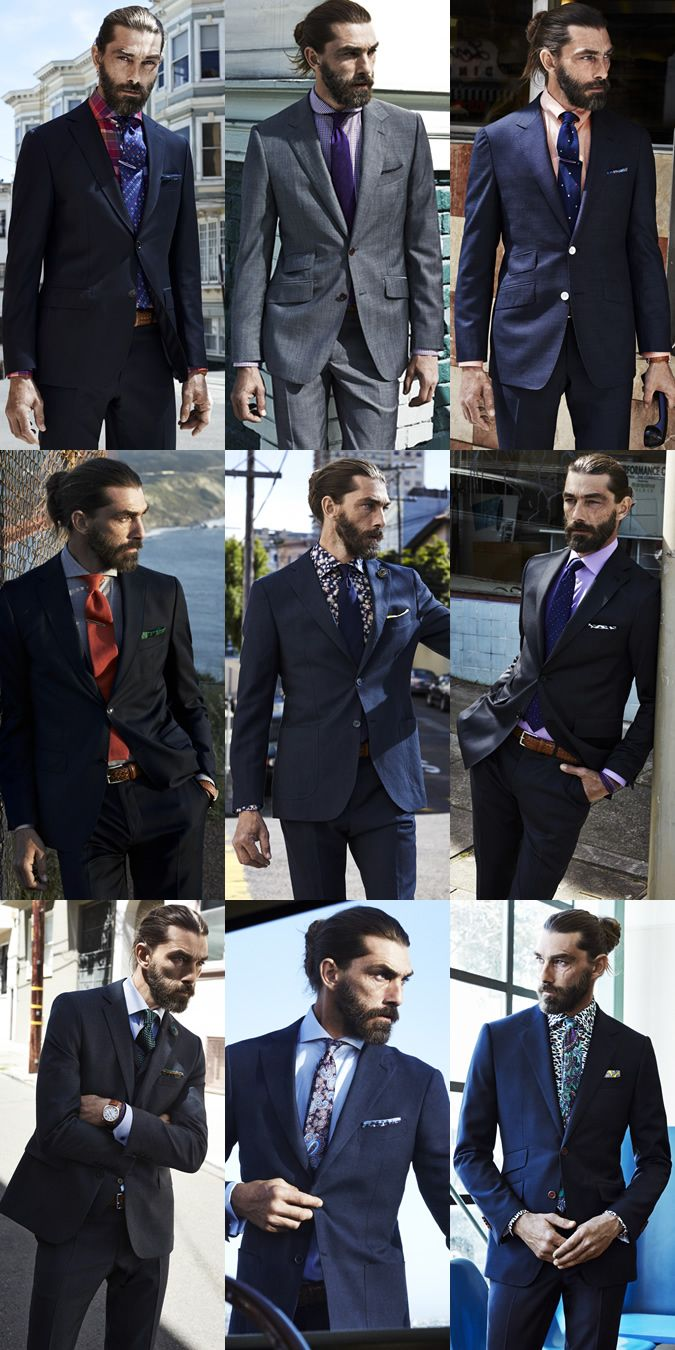 'Sebastian Chabal' on crack [Men's Eton Shirts Lookbook]