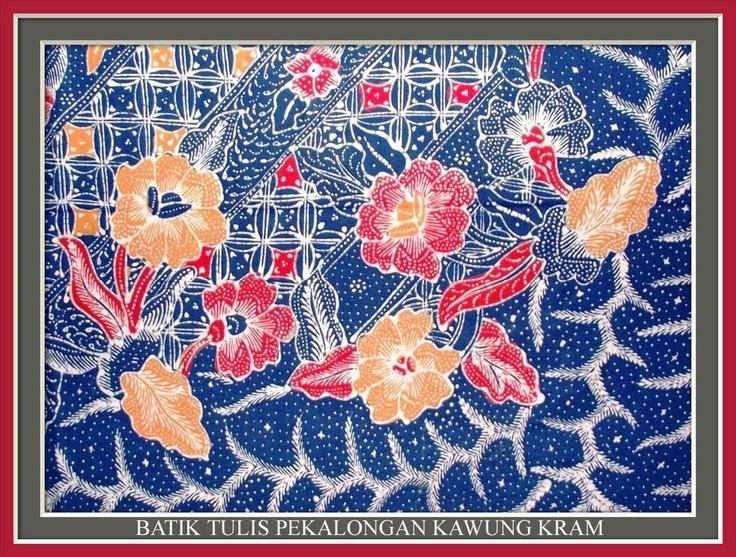 Batik Tulis Pekalongan Kawung Kram