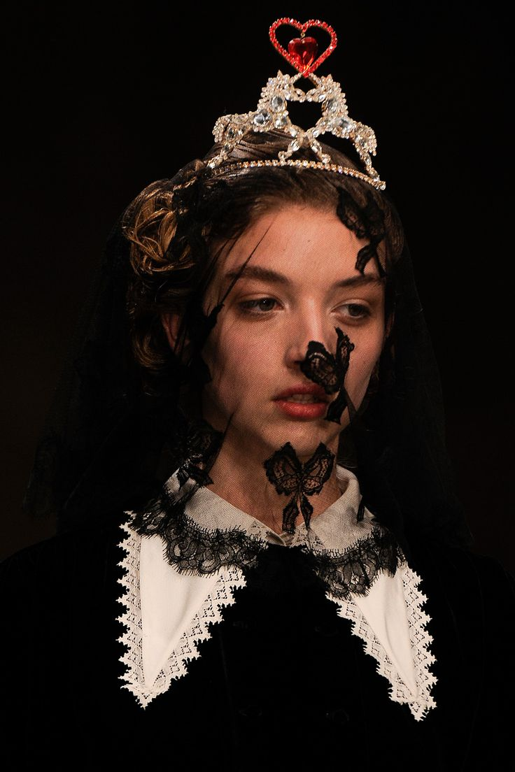 Meadham Kirchhoff Do we have lace butterflies?