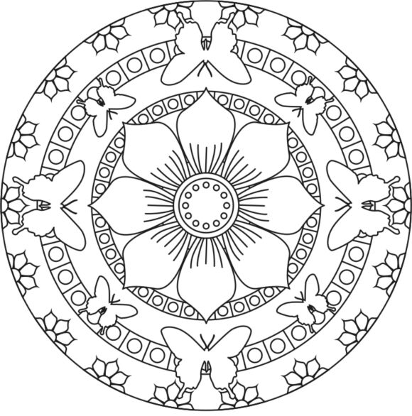 earth flower coloring pages - photo#32