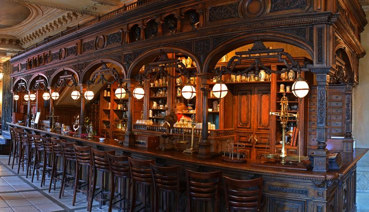 Apothecary Bar at Café Pushkin, Moscow