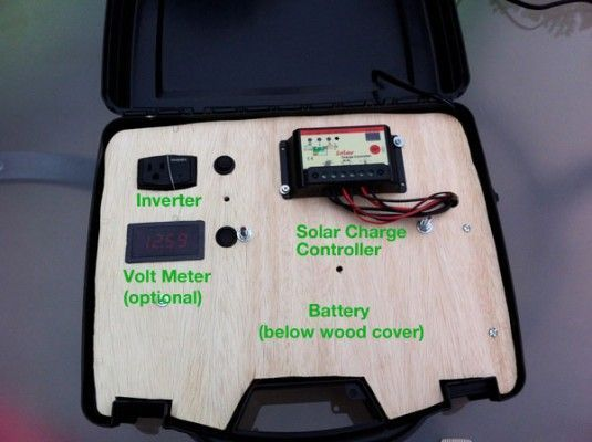 Build Your Own Solar Power Generator for under $150.  Want to build your own portable solar power generator to take with you on camping trips or for use in an emergency? I'll show you how below, it's easier than you think. Goal Zero's version of this cost over $400 and doesn't include any solar panels! Depending on what you include yours will cost under $150 by buying inexpensive parts from Amazon.com.