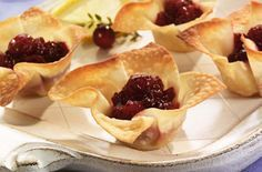 Ocean Spray Cranberry Brie Appetizer Bites. Try this recipe now: http://www.oceanspray.com/Recipes/Corporate/Appetizers/Cranberry-Brie-Appetizer-Bites-(1).aspx?courses=Appetizers