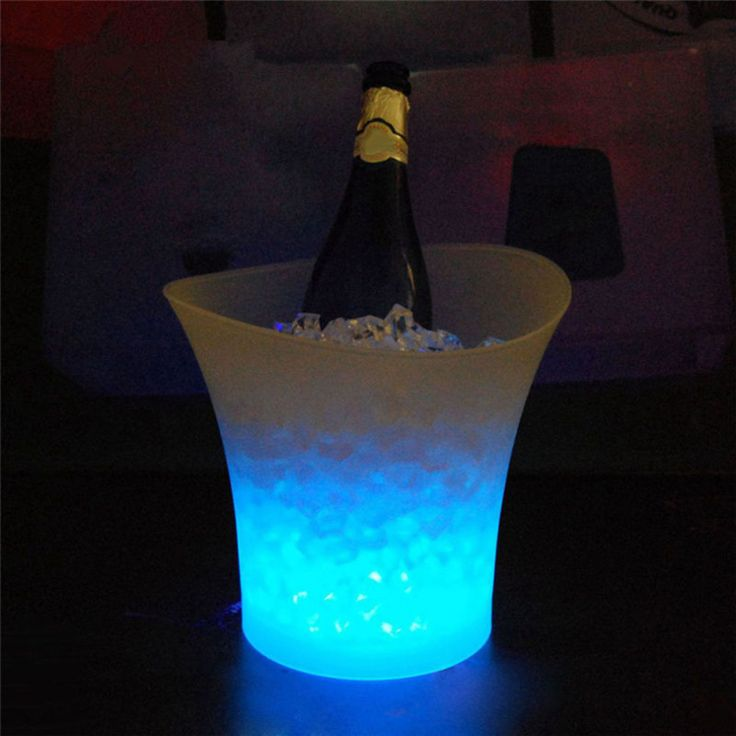 17 best ideas about beer bucket on pinterest mexican - Seau a champagne lumineux led ...
