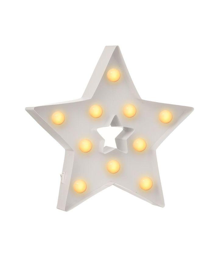 letterverlichting ster - HEMA