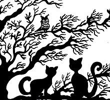 Cats in the tree by kassandry31