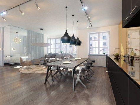 24 best Inspiration für Wohnküchen images on Pinterest Live - offene wohnkchen