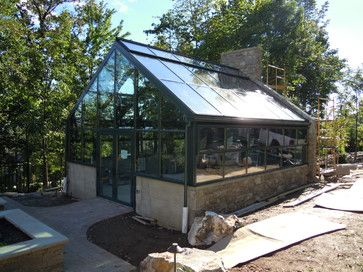 42 best modern greenhouse images on pinterest home for Residential greenhouse designs