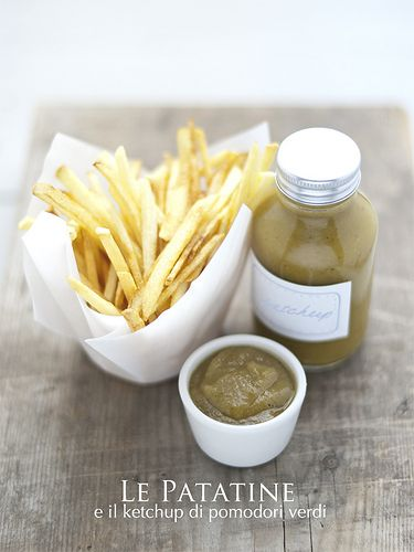 patatine & ketchup di pomodOri vedi