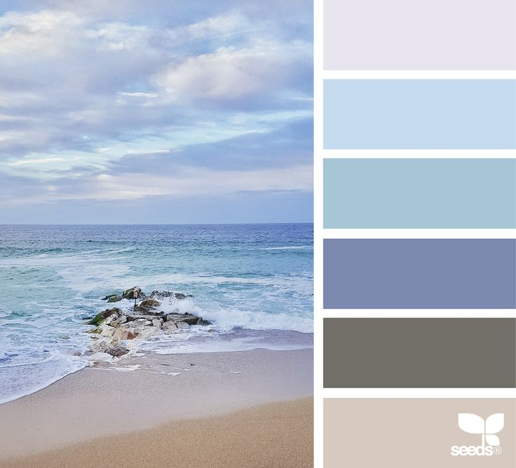 { sea of color } image via: @acciaio73 #color #palette #designseeds #design #seeds #seedscolor