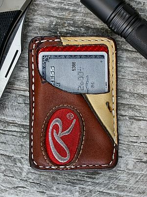 Vvault Wallet Built From Vintage Baseball Gloves-Vvego http://www.vvego.com/product/limited-edition-vvault-front-pocket-wallet-built-from-vintage-baseball-gloves/