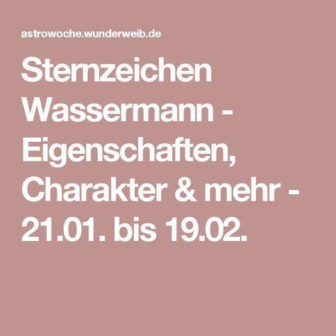 Sternzeichen Wassermann - Eigenschaften, Charakter & mehr - 21.01. bis 19.02.