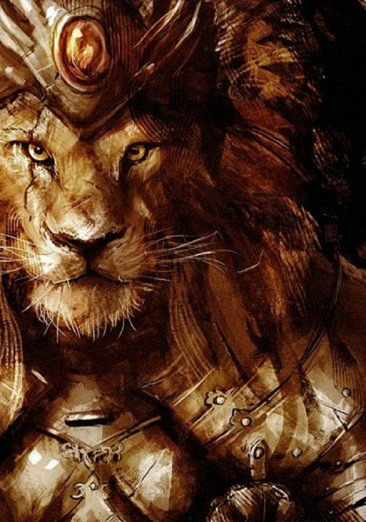 royal cat by ben rennen fantasies lion art fantasy