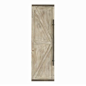 Wooden Faux Barn Door Plaque  Two of these for the fireplace
