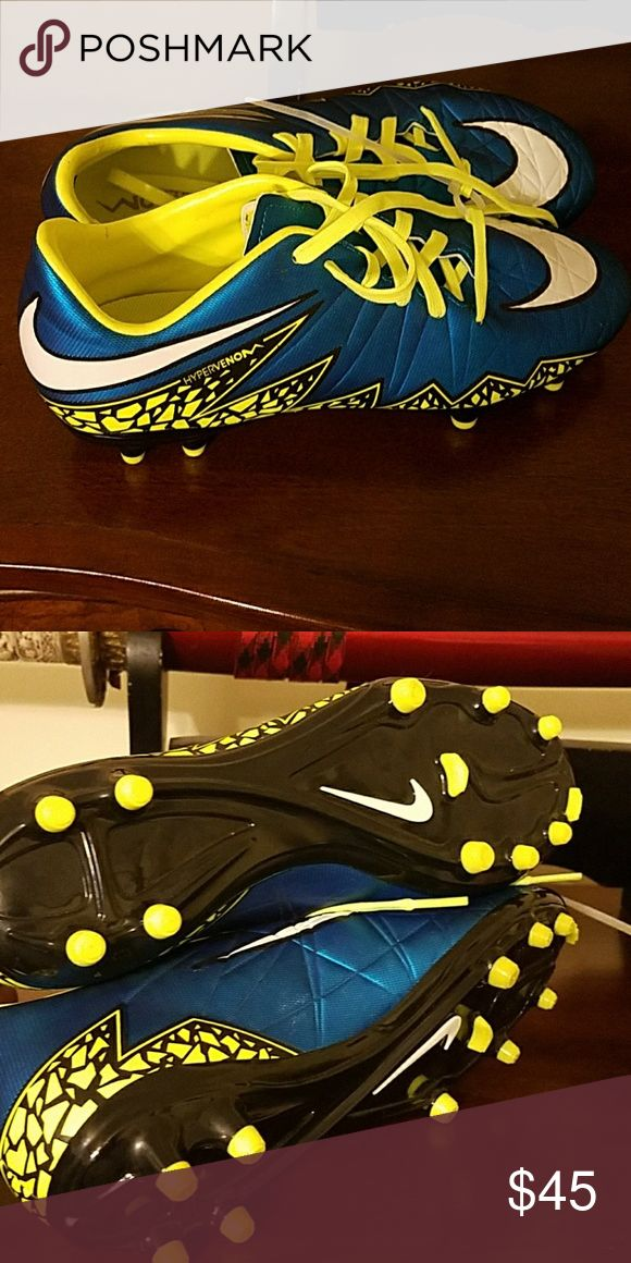 These are Nike Track/Football cleats These are brand new Multi color Nike Track shoes for young men size 7.5 never worn. Nike Shoes Sneakers