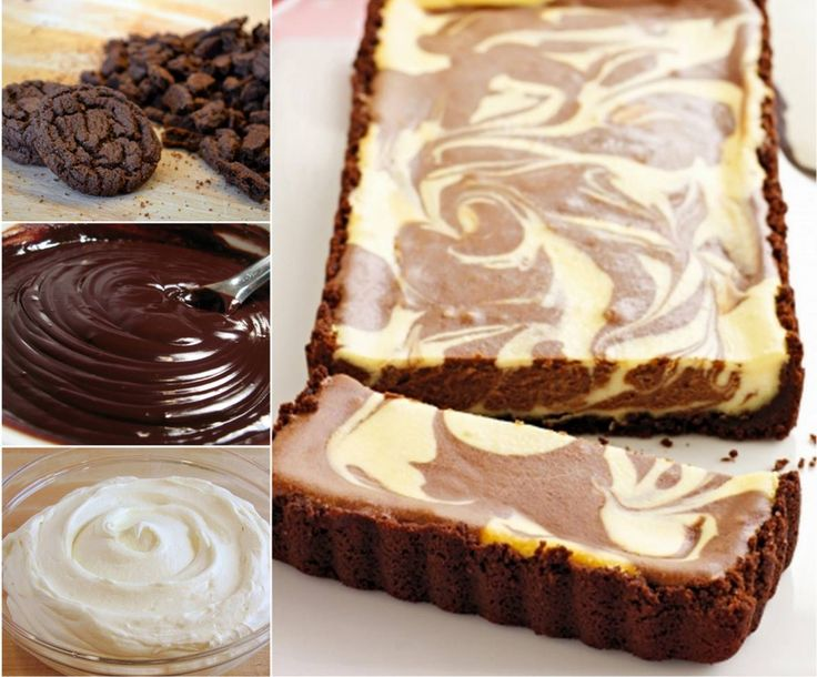 Chocolate Ripple Cheesecake #recipe, #dessert, #cheesecake, #design
