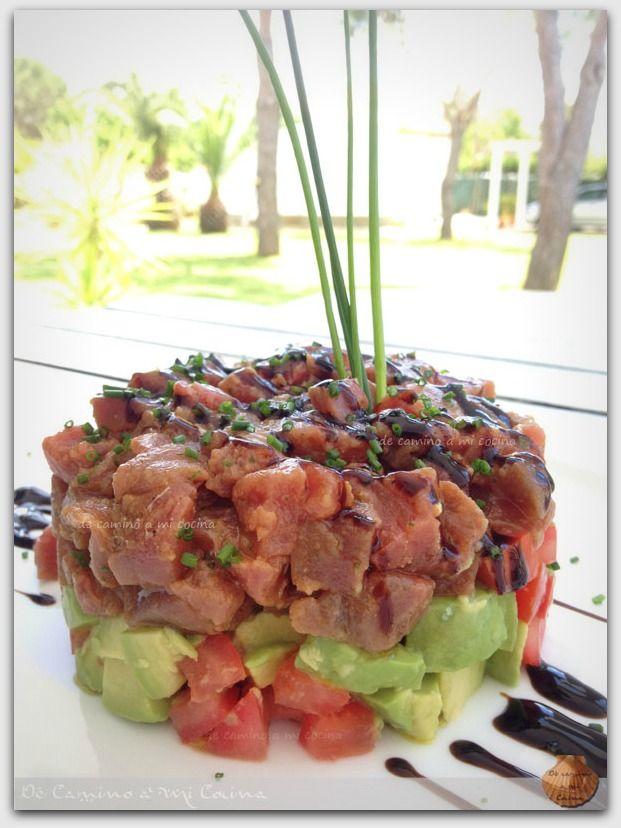 Tartar de Atún Rojo | De Camino a Mi Cocina
