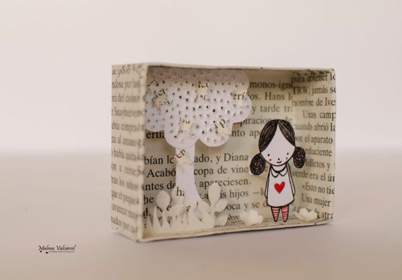 Matchbox Art  Diorama  Made to Order by MalenaValcarcel on Etsy