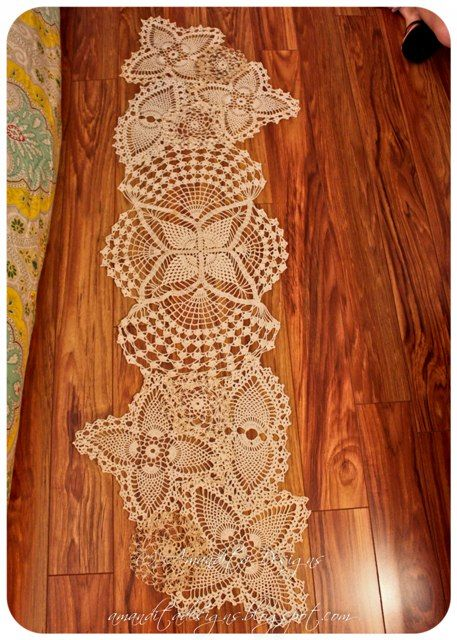 I think that there is often amisspellingof the word doily. I did a little research and I looked it up. According to the Merriam-Webster D...