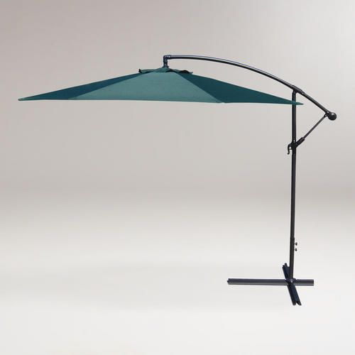 10ft green cantilever umbrella