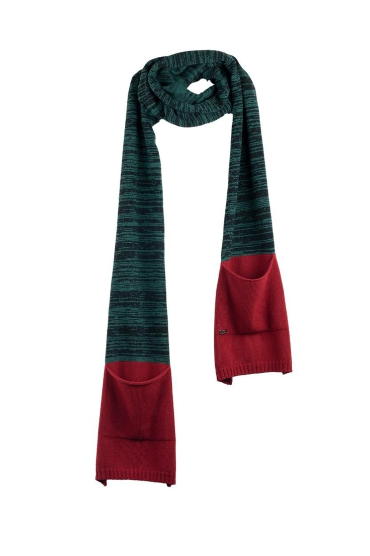 Echarpe bicolore chinée poche DESERT Cop Copine - boutique en ligne officielle