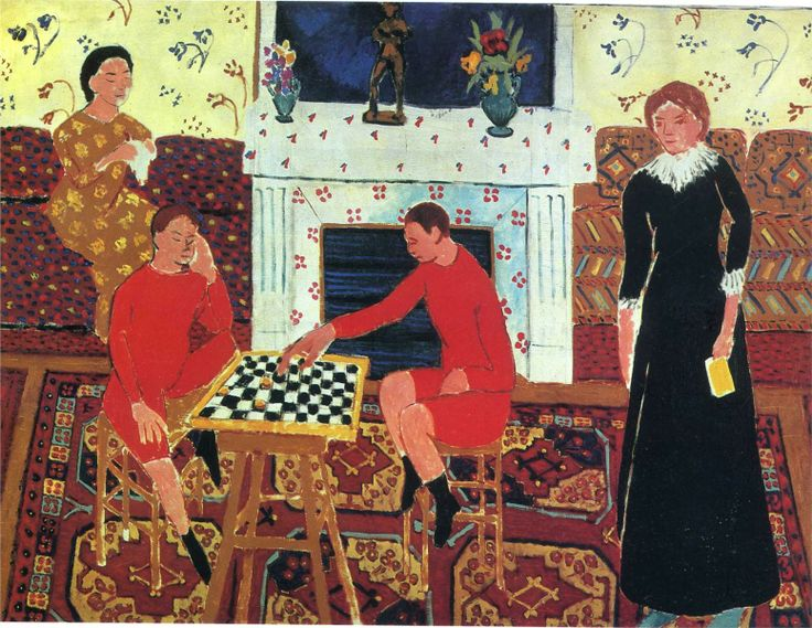 Henri Matisse - The Family of the Artist, 1911