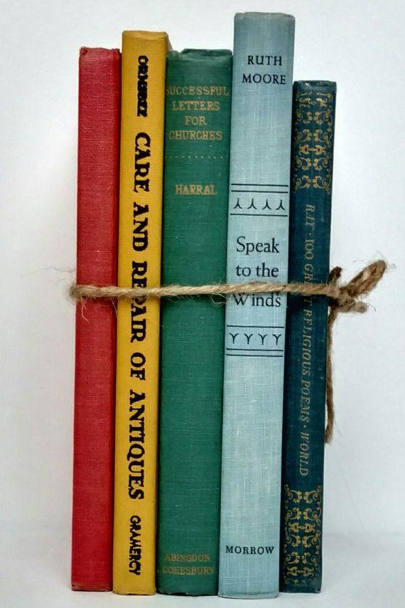 9 best Vintage Books | Book Decor | Old Book Sets images on ...