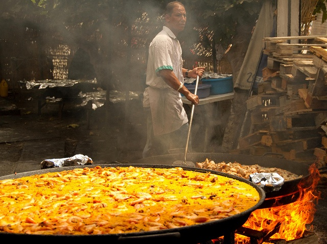 You just have to try Ayo´s paella. Burriana Beach, Nerja, Spain.