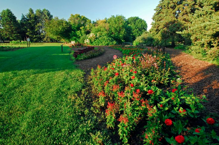 McCrory Gardens, a campus and community focal point, is managed by ...
