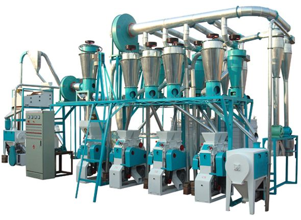High Efficiency of Small Scale Flour Mill Machinery for Sale