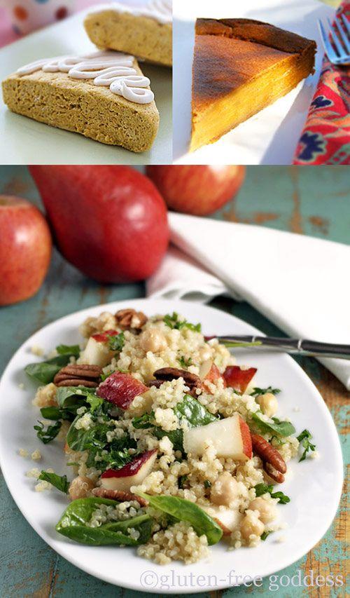 gluten free Thanksgiving recipes #glutenfree